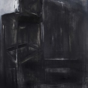 Xia Funing Languages of Black and White 2011 Oil on canvas 150x120cm  290x290 - Rationalized Vision—Xia Funing Art Exhibition on Display at the National Art Museum of China