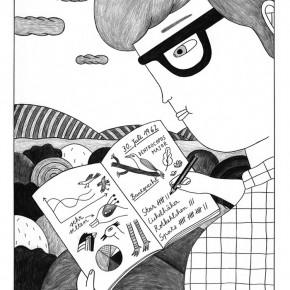 01 Work by Ana Albero, member of German Comic Club Orang