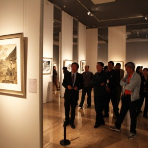 """02 Opening ceremony  290x290 - """"Distant Melody from Quiet Mountains – Special Exhibition of Lang Ching-shan Photography Art"""" Debut at National Art Museum of China"""