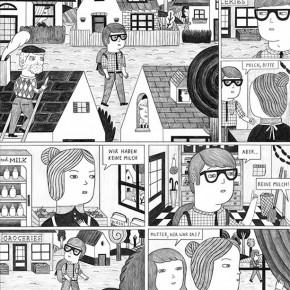 02 Work by Ana Albero, member of German Comic Club Orang