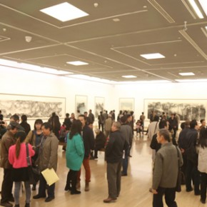 03 Exhibition View 290x290 - Pave in the Magnificent Land – Landscape Painting Exhibition by Hao Hejun