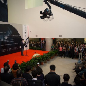 "03 View of the opening ceremony of ""Inheritance of Brush and Ink – Four Decades of Zhang Lichen's Teaching"" 290x290 - ""Inheritance of Brush and Ink – Four Decades of Zhang Lichen's Teaching"" Grandly Inaugurated at CAFAM"