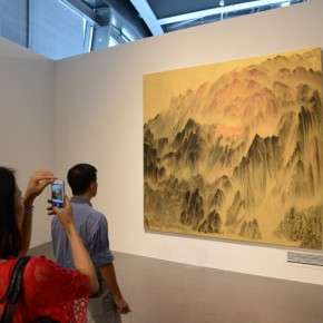 "04 View of ""Xu Longsen's Landscape Paintings·Nanjing""  290x290 - Landscape Paintings of Xu Longsen Exhibiting at the Art Museum of Nanjing University of the Arts"