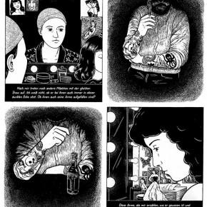 06 Work by Line Hoven, member of German Comic Club Orang