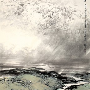 07 Work by Hao Hejun 290x290 - Pave in the Magnificent Land – Landscape Painting Exhibition by Hao Hejun