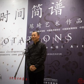 09 Chen Qi addressed at the Opening Ceremony of Notations of Time Chen Qi Art Exhibition 290x290 - Notations of Time: Chen Qi Art Exhibition Solemnly Opened at the National Museum of China