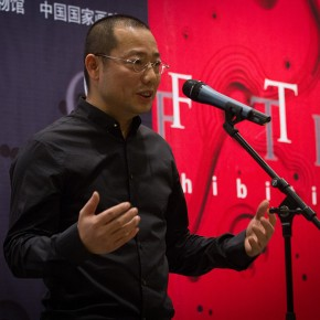 10 Chen Qi addressed at the Opening Ceremony of Notations of Time Chen Qi Art Exhibition 290x290 - Notations of Time: Chen Qi Art Exhibition Solemnly Opened at the National Museum of China