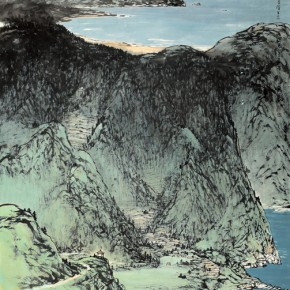 11 Work by Hao Hejun 290x290 - Pave in the Magnificent Land – Landscape Painting Exhibition by Hao Hejun