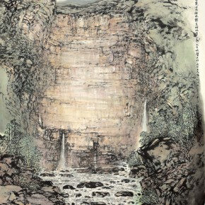 12 Work by Hao Hejun 290x290 - Pave in the Magnificent Land – Landscape Painting Exhibition by Hao Hejun