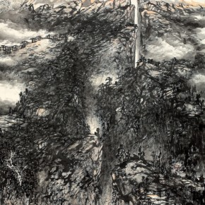 15 Work by Hao Hejun 290x290 - Pave in the Magnificent Land – Landscape Painting Exhibition by Hao Hejun