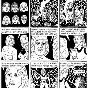 15 Work by Paul Paetzel, member of German Comic Club Orang
