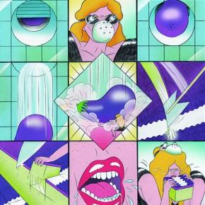 18 Work by Sharmila Banerjee, member of German Comic Club Orang