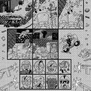 20 Work by Till Thomas, member of German Comic Club Orang