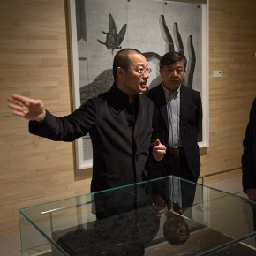 21 Zuo Zhongyi Deputy Chairman of the Leading Party Group as well as General Secretary of China Federation of Literary and Art Circles 290x290 - Notations of Time: Chen Qi Art Exhibition Solemnly Opened at the National Museum of China