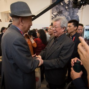 "27 View of the opening ceremony of ""Inheritance of Brush and Ink – Four Decades of Zhang Lichen's Teaching"" 290x290 - ""Inheritance of Brush and Ink – Four Decades of Zhang Lichen's Teaching"" Grandly Inaugurated at CAFAM"