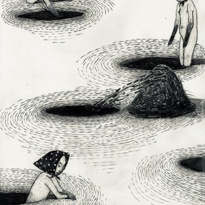 27 Work by Anke Feuchtenberger, German comic artist