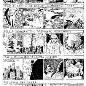 28 Work by Anke Feuchtenberger, German comic artist