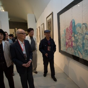"31 View of the opening ceremony of ""Inheritance of Brush and Ink – Four Decades of Zhang Lichen's Teaching"" 290x290 - ""Inheritance of Brush and Ink – Four Decades of Zhang Lichen's Teaching"" Grandly Inaugurated at CAFAM"