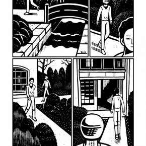 """32 Work by Hu Xiaojiang, member of """"Special Comix"""", a comic community at Chinese district"""