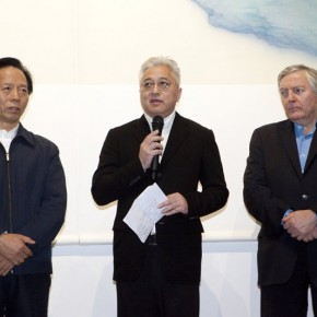 Artist Xu Lei addressed at the opening ceremony 290x290 - Veneer of the World: Xu Lei Solo Exhibition at Today Art Museum