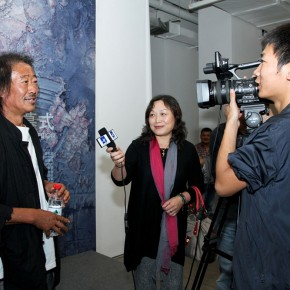 Artist Yu Zhenli was interviewed at the Self deportation Yu Zhenli Solo Exhibition 290x290 - Self-deportation: Yu Zhenli Solo Exhibition Held at Today Art Museum
