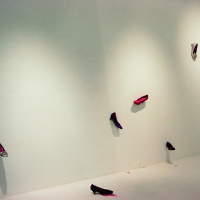 Cai Jin Shoes installation 290x290 - The Zero State – First China Installation Art Biennale 2013 to be Presented in Beijing and Tianjin