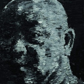 Duan Jianghua Self portrait 50 x 40 cm oil on canvas 2010 290x290 - We: 1994-2013Collective Exhibitionof China SongZhuangArtists Held in Beijing