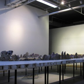 "General View of ""Travelling to the Wonderland"" at Xu Bing's Studio"