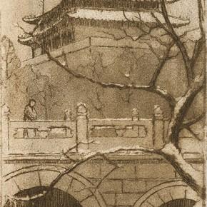 Guan Guangzhi's works 1 290x290 - Elegant Ancient Bridges – Guan Guangzhi, Guan Naiping, Zhai Xinjian and Zhai Bo's Exhibition at CAFA