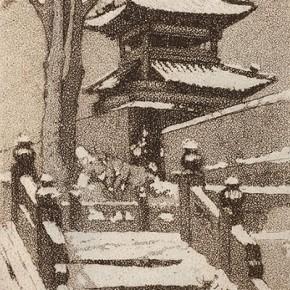 Guan Guangzhi's works 2 290x290 - Elegant Ancient Bridges – Guan Guangzhi, Guan Naiping, Zhai Xinjian and Zhai Bo's Exhibition at CAFA