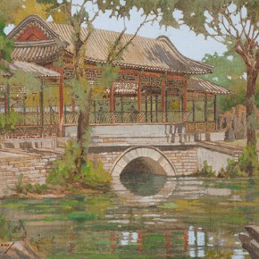 Guan Guangzhi's works 3 290x290 - Elegant Ancient Bridges – Guan Guangzhi, Guan Naiping, Zhai Xinjian and Zhai Bo's Exhibition at CAFA