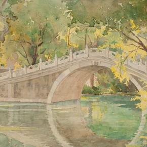 Guan Guangzhi's works 4 290x290 - Elegant Ancient Bridges – Guan Guangzhi, Guan Naiping, Zhai Xinjian and Zhai Bo's Exhibition at CAFA