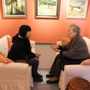 Journalist of CAFA ART INFO interviewed with Zhao Youping