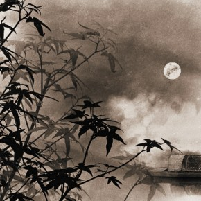 """Lang Ching shan """"Midnight Mooring at Maple Bridge"""" 61 x 37.4 cm 1960 290x290 - """"Distant Melody from Quiet Mountains – Special Exhibition of Lang Ching-shan Photography Art"""" Debut at National Art Museum of China"""