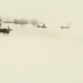 """Lang Ching shan """"Moor in the Misty River at Night"""" 30.5 x 40.5 cm 1937 290x290 - """"Distant Melody from Quiet Mountains – Special Exhibition of Lang Ching-shan Photography Art"""" Debut at National Art Museum of China"""