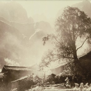 """Lang Ching shan """"Smoke from the Kitchen Chimneys of Mountain House """" 27 x 36 cm 1933 290x290 - """"Distant Melody from Quiet Mountains – Special Exhibition of Lang Ching-shan Photography Art"""" Debut at National Art Museum of China"""