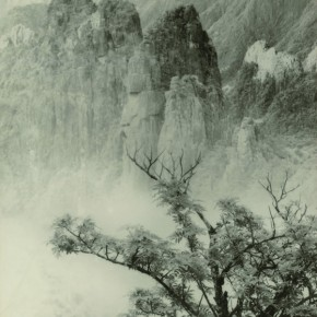 """Lang Ching shan """"Spring Trees and Peculiar Peak"""" 61 x 42.6 cm 1934  290x290 - """"Distant Melody from Quiet Mountains – Special Exhibition of Lang Ching-shan Photography Art"""" Debut at National Art Museum of China"""