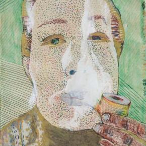 Liao Wen Self portrait 290x290 - We: 1994-2013Collective Exhibitionof China SongZhuangArtists Held in Beijing