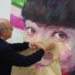 Noted American Contemporary Painter John Walker Invited to Lecture in the Department of Oil Painting, CAFA 01