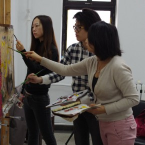 Noted American Contemporary Painter John Walker Invited to Lecture in the Department of Oil Painting, CAFA 04