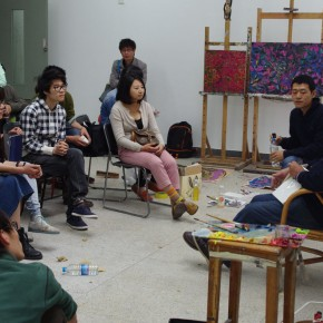 Noted American Contemporary Painter John Walker Invited to Lecture in the Department of Oil Painting, CAFA 06