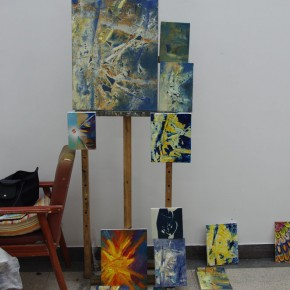 Noted American Contemporary Painter John Walker Invited to Lecture in the Department of Oil Painting, CAFA 09