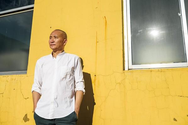 Portrait of Qiao Xiaoguang, Photo by Dong Lin