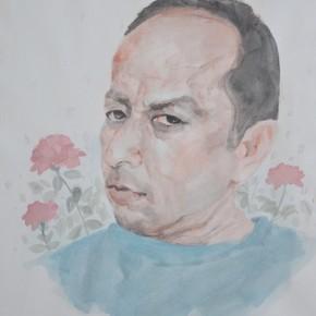 Qi Zhilong Self portrait 290x290 - We: 1994-2013Collective Exhibitionof China SongZhuangArtists Held in Beijing