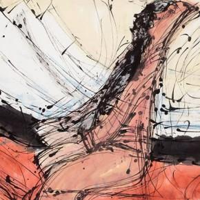 "Qiao Xiaoguang ""Grassland's Long Tune"" 179 x 98 cm 2011 290x290 - Contrasting Worlds – The Ink Art of Qiao Xiaoguang on Display in Beijing 798 Art Zone"