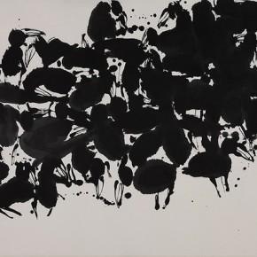 "Qiao Xiaoguang ""Legend of the Sun"" 177 x 96 cm 2009 290x290 - Contrasting Worlds – The Ink Art of Qiao Xiaoguang on Display in Beijing 798 Art Zone"