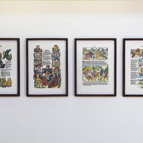 Qiu Zhijie Book of Comedy 2013 prints 30 pieces 45 x 79cm each Courtesy Galleria Continua Photo by Meng Wei 290x290 - Satire: Qiu Zhijie Solo Exhibition at Galleria Continua, Beijing