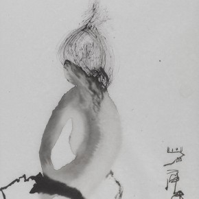 Shi Hu Ink and Wash Figure 05 2011 70cmx45cm 290x290 - Largest Solo Exhibition of Shi Hu to be Unveiled at the National Art Museum of China