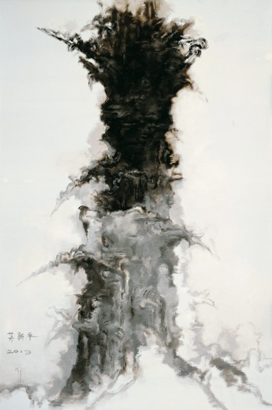 "Su Xinping, ""Eight Things No.3"", 2013; oil on canvas, 300 x 200 cm"