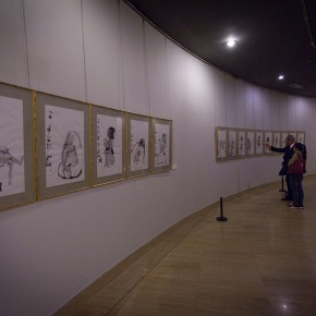 "View of the ""Beijing Exhibition of Chinese Painting and Calligraphy by Shi Hu"" 09 290x290 - Beijing Exhibition of Chinese Painting and Calligraphy by Shi Hu grandly opened at National Art Museum of China"
